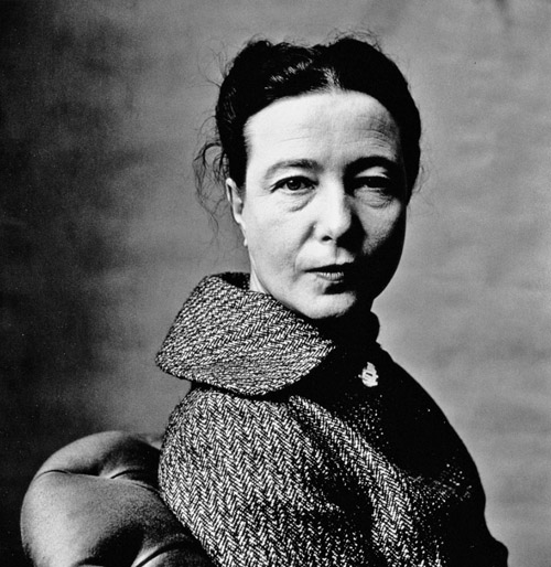irving penn simone de beauvoir michele roohani