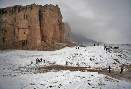 newsha tavakolian photoquai naghsh rostam snow michele roohani