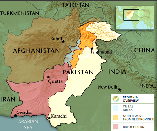 pakistan afghanistan tribal belt map micheleroohani