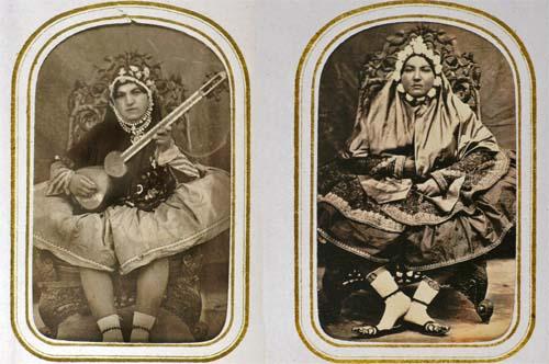 qajar women naser el din shah michele roohani photoquai iranian women 19th century