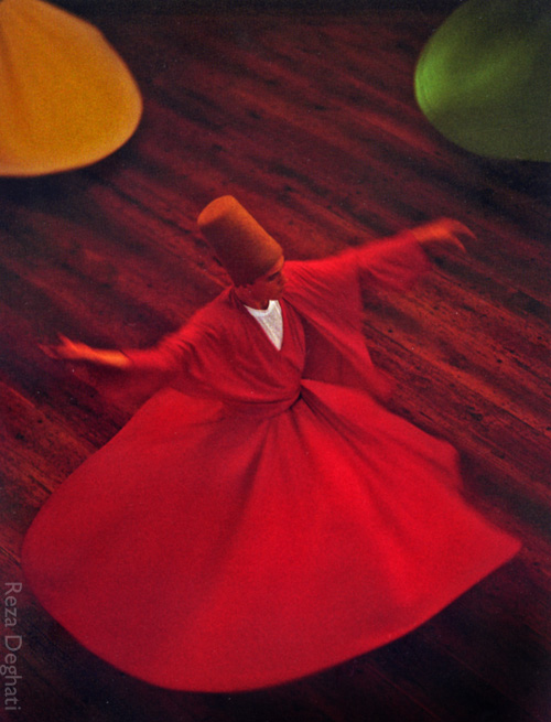 reza deghati national geographic dervish 1993 turkey micheleroohani