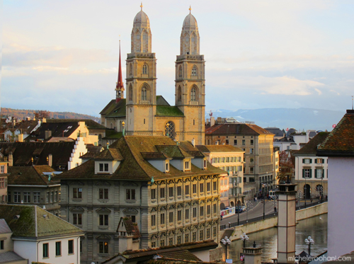 grossmunster zurich sunset michele roohani
