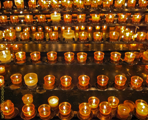 strasbourg cathedral candles micheleroohani