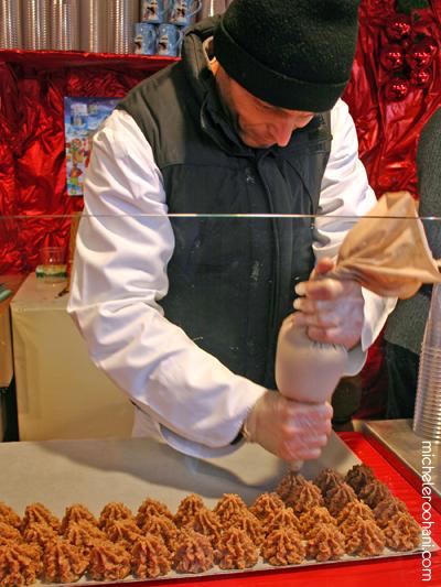 strasbourg christmas macaroon baker michele roohani