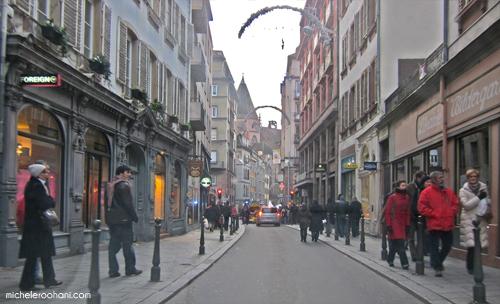 strasbourg streets christmas 2009 michele roohani