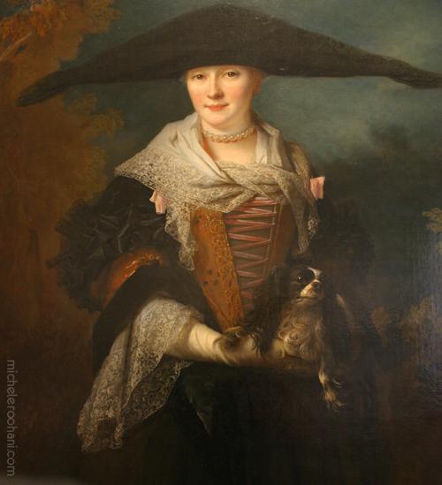 belle strasbourgeoise largilliere fine arts museum michele roohani