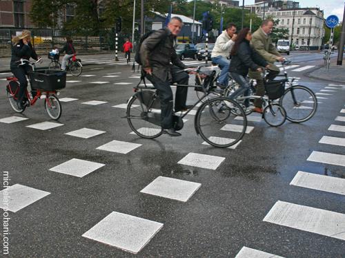 amsterdam bike street michele roohani