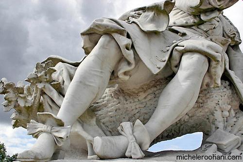 chantilly le notre statue marble  Noel, Edme Antony Paul michele roohani