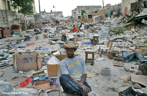 damon winter haiti earthquake