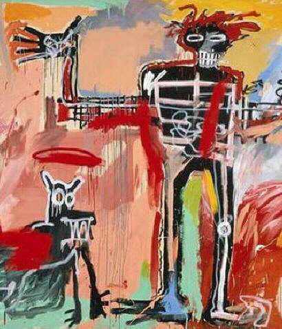 jean michel basquiat haiti michele roohani radiant child
