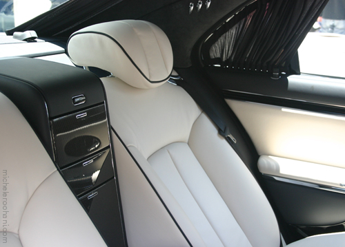 white interior car michele roohani