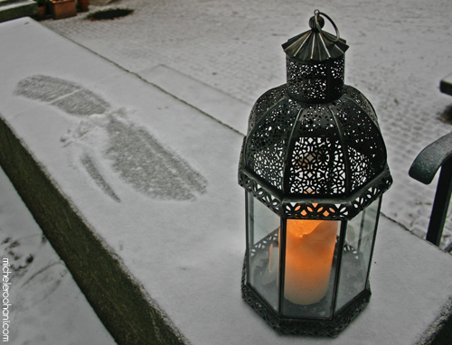 snow candle michele roohani