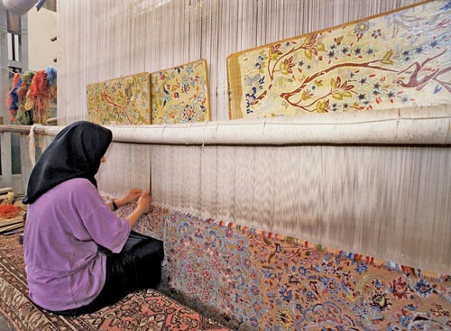 chris lisle carpet weaving iran michele roohani