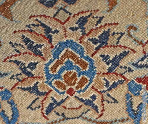 persian knots rug nain michele roohani