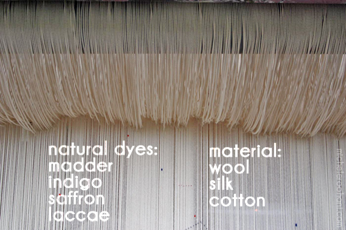 loom metier a tisser michele roohani natural dyes