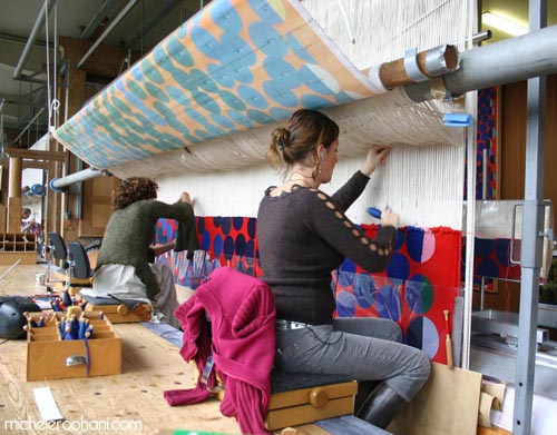 manufacture des gobelins paris michele roohani women tapestry