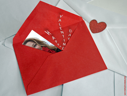 michele roohani valentine 2010 red envelope