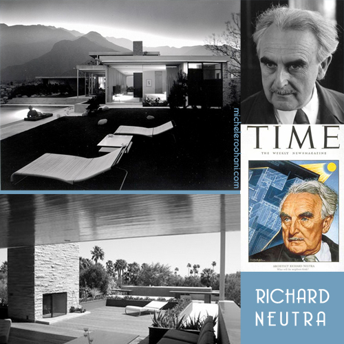 richard neutra kaufmann desert house michele roohani