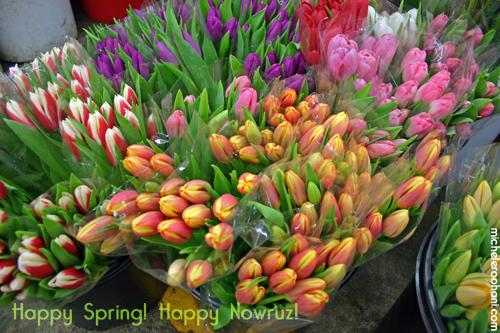 tulips happy nowruz michele roohani spring norouz