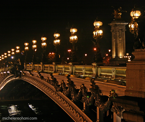 alexandre III bridge paris michele roohani