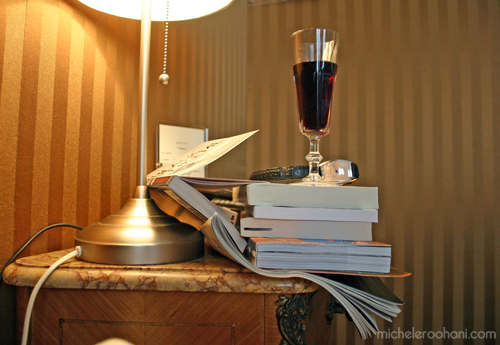 books and wine paris michele roohani