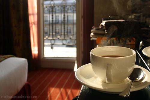 café at the paris hotel michele roohani