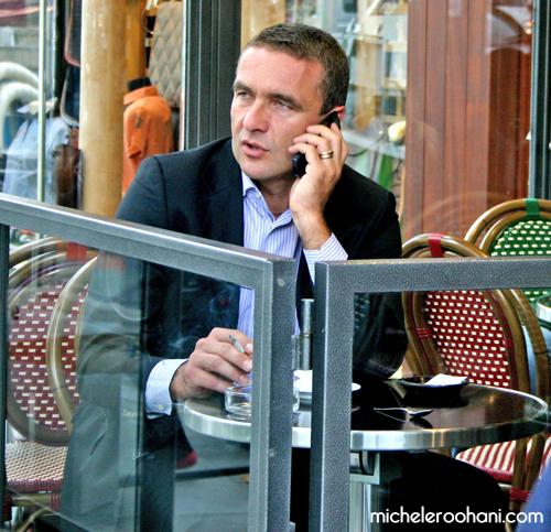 parisian dude cigarette michele roohani
