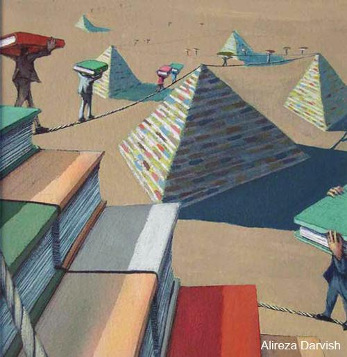 alireza darvish michele roohani egyptian books