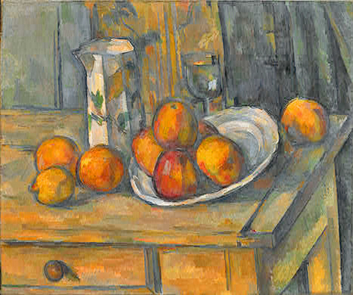 Cezanne-Still-Life-with-Milk-Jug-and-Fruit