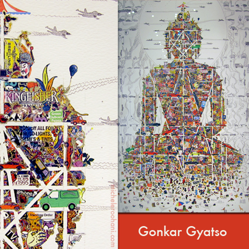 Gonkar Gyatso buddha in our time michele roohani