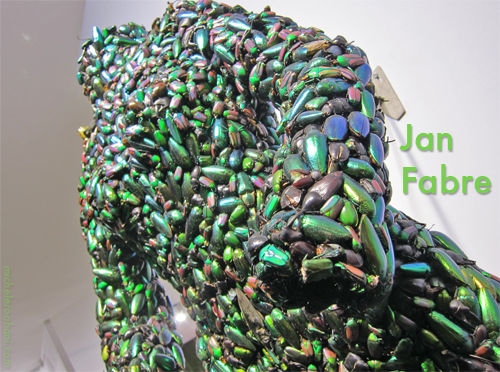 jan fabre jewel scarabs michele roohani artparis