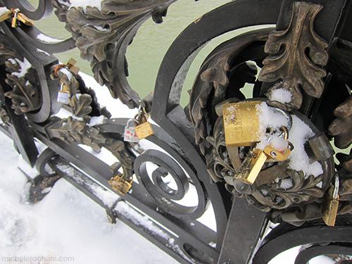 padlocks cadenas pont paris michele harper