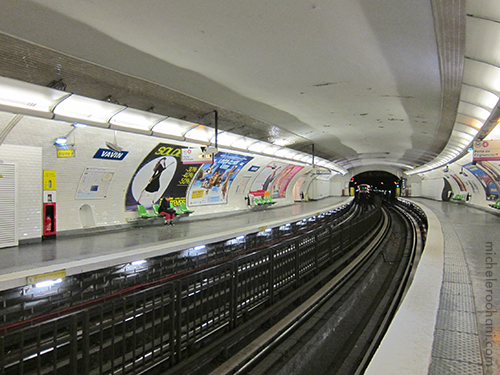 paris metro deserted michele roohani