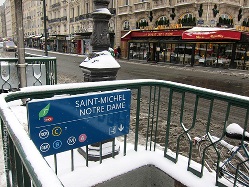 saint michel sous neige michele roohani