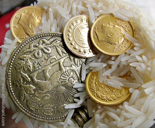 coins sekkeh nowruz michele roohani