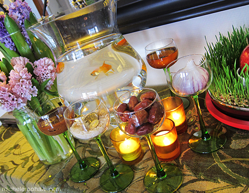 haft seen persian norooz michele roohani