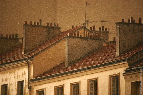 paris roofs michele harper