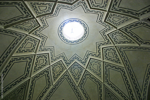 Sultan Amir Ahmad Bathhouse ceiling dordaneh
