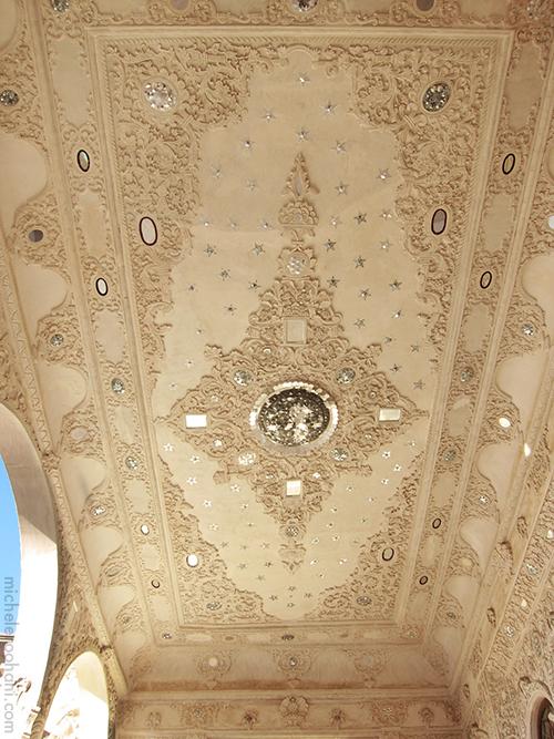ceiling rug kashan michele roohani