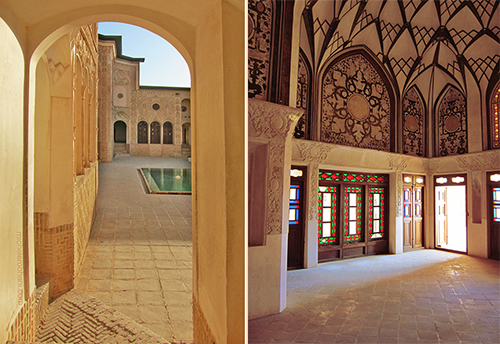 historic house kashan roohani