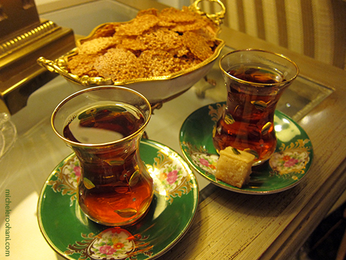 persian tea glass michele roohani