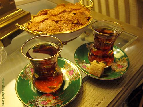 persian tea glass michele roohani