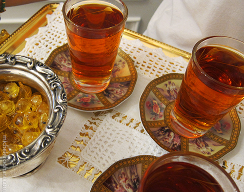 tea chai dordaneh rouhani iran