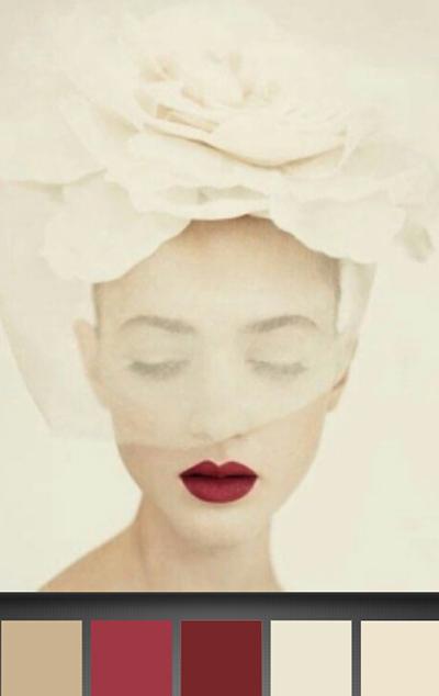 michele roohani crimson lips palette