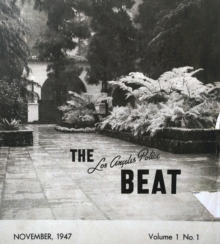 Beat magazine LAPD museum michele roohani