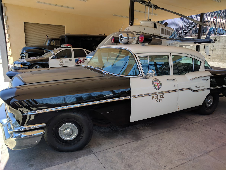 LAPD museum patrol car michele roohani